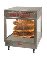 Benchmark 51018 Countertop Humidified Hot Food Display Case Merchandiser
