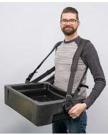 Hawker 32-Can Vending Tray w/ Strap for Stadium Concessions | Black