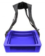 Hawker 32-Can Vending Tray w/ Strap for Stadium Concessions | Blue