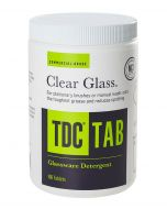 Glass Cleaner Detergent Tablets for Manual Brush Washers