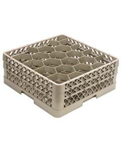 """30 Compartment Dishwasher Glass Rack, 6 1/8"""""""