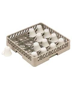 16 Compartment Cup Rack W/ext