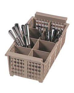 Vollrath 1/2 Size Flatware Basket for Dishwasher Racks