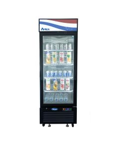 "Atosa MCF8725GR One-Section Refrigerator Merchandiser | 24""W"