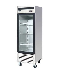 Atosa MCF8705GR One Section Single Door Refrigerator Merchandiser | 27""