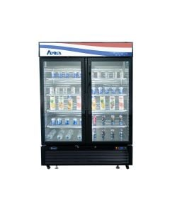Atosa MCF8721GR Glass Door Freezer Merchandiser