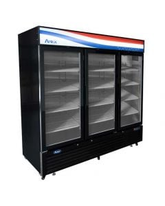 Atosa MCF8728GR Glass Door Freezer Merchandiser | Three Section