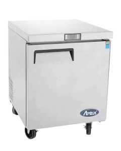 """Atosa MGF8401GR Single Door One Section Undercounter Reach-In Refrigerator 