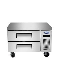 """Atosa MGF8448GR 2-Drawer Refrigerated Chef Base   35-5/8"""" Wide"""