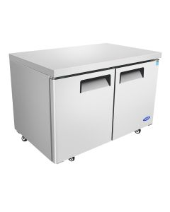 Atosa MGF8406GR Two Door Dual Section Undercounter Reach-In Freezer | 48""