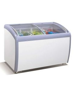 Atosa MMF9109 Angle Curved Top Chest Freezer   9.2 Cu. Ft.