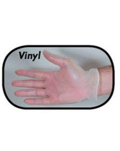 Large Powder Free Vinyl Glove | Box of 100