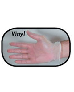 X-Large Powder Free Vinyl Glove | Box of 100