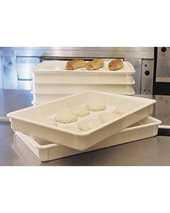 "MFG 870008 Dough Proofing Box Tray for Pizza Dough Balls, 3"" Deep"