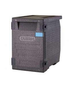 Cambro GoBox Food Pan Carrier | Black | 90.9 Qt