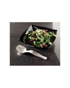 Black Serving Fork | Plastic