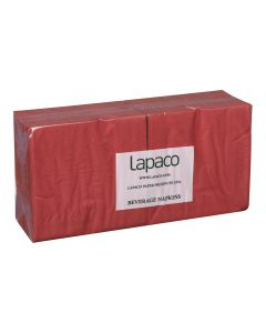 Two-Ply Red Beverage Napkins | 200/PK