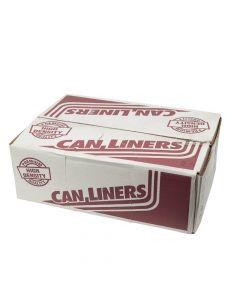 "High Density Liner | Clear | 43"" x 48"" | 56 Gallon | 200/CS"