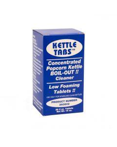Popcorn Kettle Pucks - Low Foam Boil out Cleaner 8 pre-portioned tablets