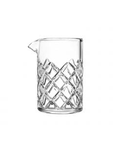 Mixing Glass, Diamond Cut Design | 14-3/4 Oz. | 4/Case