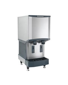 Scotsman HID312A-1 Meridian Nugget Ice & Water Dispenser with Bin