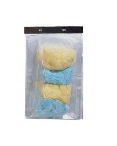 Cotton Candy Clear Bags   1000/CS