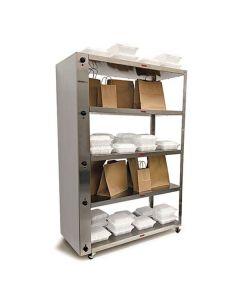 4-Tiered Electric Heated To-Go Shelf | Nemco 6302-4