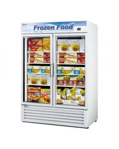 Turbo Air TGF-49F-N Reach-In Display Freezer - 2 Glass Doors