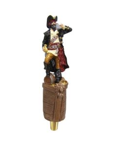 Pirate Captain Novelty Beer Tap Handle
