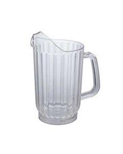 32 Oz Clear Plastic Beverage Pitcher for Restaurants