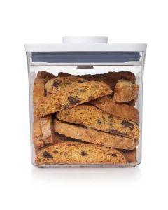 Dry Ingredient Shelf Pop Container Storage Bin   2.8 Qt