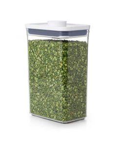 Dry Ingredient Shelf Pop Container Storage Bin   2.7 Qt