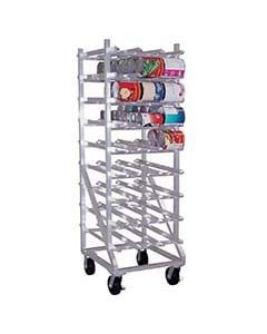 Can Rack W/casters