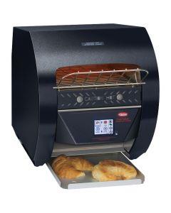 Hatco TQ3-400-STD Commercial Horizontal Conveyor Toaster | Black