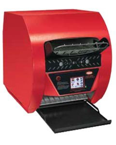 Hatco TQ3-400-WRED Commercial Horizontal Conveyor Toaster | Red