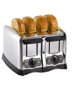 Proctor Silex 24850 Extra-Wide 4 Slice Commercial Pop-Up Toaster