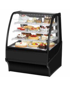 "36"" Deli   Bakery Refrigerated Display Merchandiser True TDM-R-36-GE/GE-B-W"