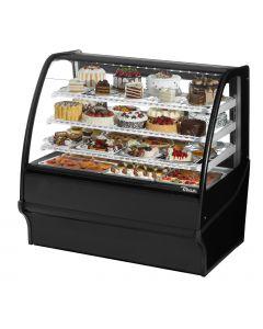 "48"" Refrigerated Deli / Bakery Display Case True TDM-R-48-GE/GE-B-W"