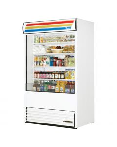 True TAC-48 Vertical Air Curtain Merchandiser Fridge