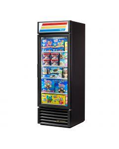 "27"" One Glass Door Display Freezer w/ 4 shelves LED Lighting True GDM-23F-HC-LD"