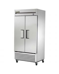 """True T-35F-HC Two Solid Door Two Section Reach-In Freezer 40"""""""