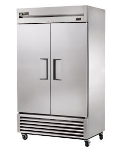 True T-43-HC Compact Double Solid Door Commercial Reach In Refrigerator