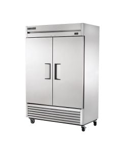 """True T-49F-HC Two Solid Door Two Section Commercial Reach-In Freezer 54"""""""