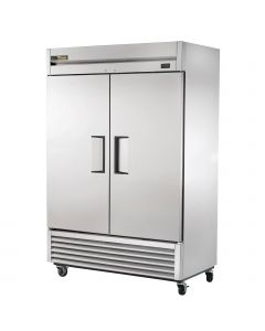 Commercial Stainless Steel Two door solid Freezer by True Model  TS-49F-HC