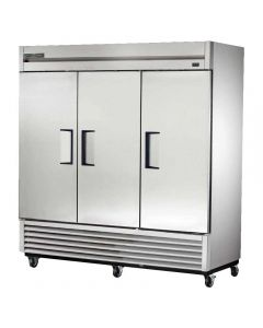 Commercial Reach-in Freezer three solid doors my True Model: TS-72F