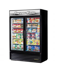 "54"" Two Swing Door Reach In Display Freezer True GDM-49F-HC~TSL01"