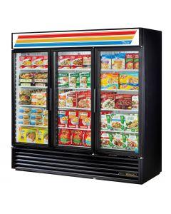 "78"" Three Swing Door Display Freezer True GDM-72F-HC~TSL01"