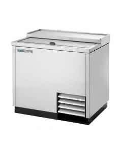 True T-36-GC-S Stainless Steel Commercial Glass Chiller