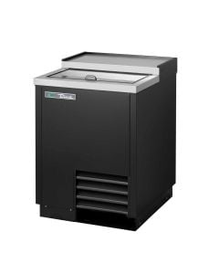 True T-24-GC-HC Plate and Glass Chiller/Froster, 1 Lid | Black Powder-Coated Exterior
