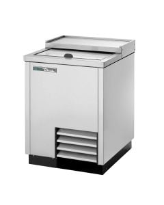 True T-24-GC-S-HC Plate and Glass Chiller/Froster, 1 Lid | Stainless Steel Exterior